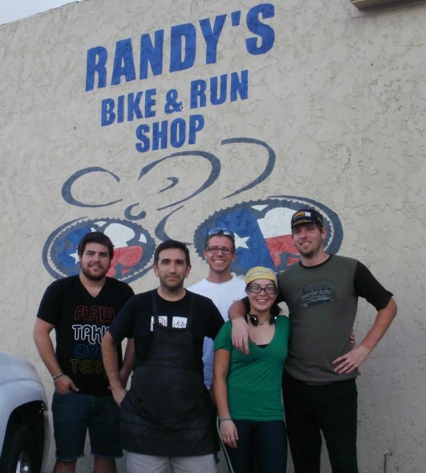 Daniel, Randy, and DEVIN!